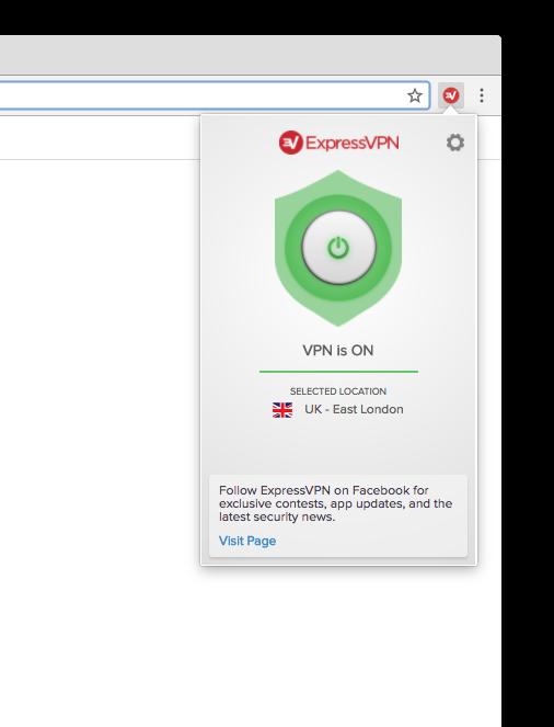如何获得ExpressVPN的Chrome扩展